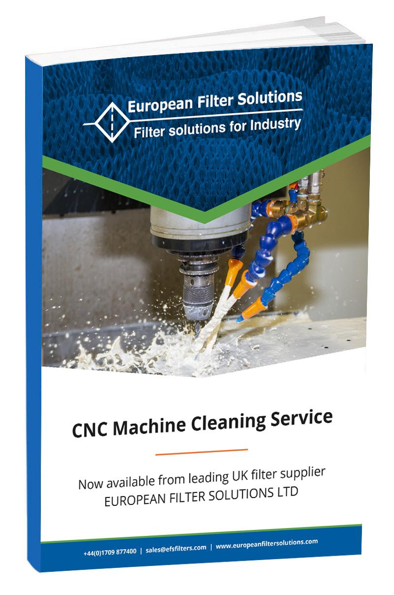 CNC Machine Cleaning